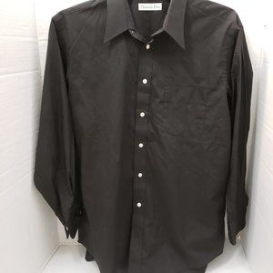Christian Dior Black Dress Shirt 16.5 32/33 USA